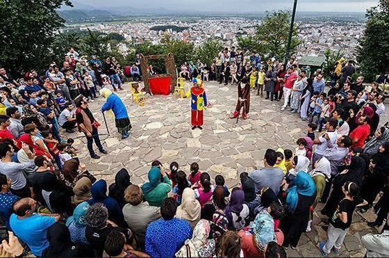 馬里萬國際街頭戲劇節(The 14th International Street Theatre Festival in Marivan, Iran)